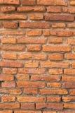 Brick wall. Pattern of old brick wall background royalty free stock photos