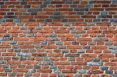 Brick Wall with pattern Stock Photography