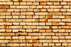 Brick wall pattern texture. Old red brick wall pattern, abstract background Royalty Free Stock Photos