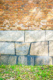 .Brick wall pattern texture Royalty Free Stock Image