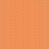 Brick wall pattern vector background Royalty Free Stock Photos
