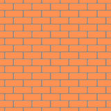 Brick wall pattern vector background Royalty Free Stock Photo
