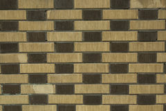 A brick wall for patterns and backgrounds Stock Image