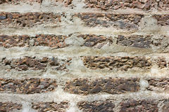 Brick wall, perfect as a background. Royalty Free Stock Image