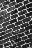 Brick wall, perfect grunge background Royalty Free Stock Photography