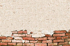 Brick wall perfect for text Royalty Free Stock Photos