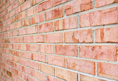 Brick Wall Perspective Texture Photo Stock Image