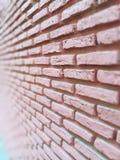 Brick wall. Pink Wall Brick Royalty Free Stock Image