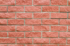 Brick wall of pink  stone Royalty Free Stock Photography