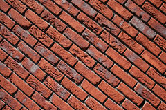 Brick wall red Royalty Free Stock Photo