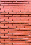 Brick wall. Red brick wall background style decor grunge Royalty Free Stock Photo