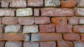 Brick wall. Red brick wall background textured Royalty Free Stock Photo