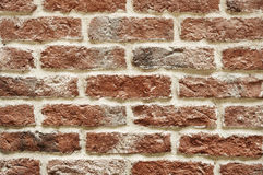 Brick wall. Red brick wall backgroung close up Stock Images