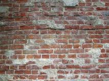 Brick wall. A wall from red bricks Stock Photos