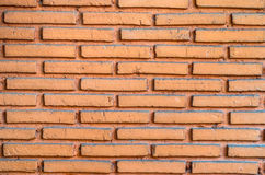 Brick wall. Red color, background texture Royalty Free Stock Images