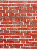 Brick wall of red color, wide panorama of masonry. Red brick wall seamless Vector illustration background - texture pattern for continuous replicate, Old brick stock photo