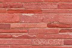 Brick wall of the Red Fort Stock Image