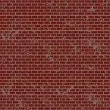 Brick wall, red relief texture, vector background illustration. Royalty Free Stock Photos
