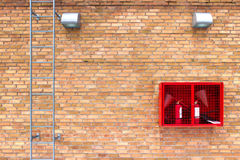 Brick wall with retro effect background for design Royalty Free Stock Image
