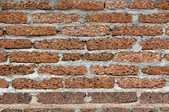 Brick Wall. Rustic brick wall. A rundown brick wall with a grungey look Stock Photography