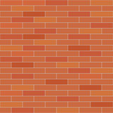 Brick wall seamless Royalty Free Stock Photos