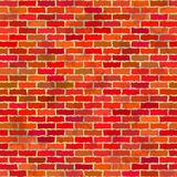 Brick wall, seamless Royalty Free Stock Photos