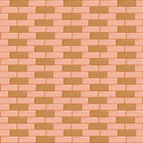 Brick wall seamless. Background Stock Photos