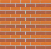 Brick wall seamless background. Royalty Free Stock Photos