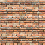 Brick wall seamless background. Stock Images