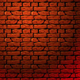 Brick wall seamless patern. Background of brick wall texture, vector Eps10 illustration Royalty Free Stock Image