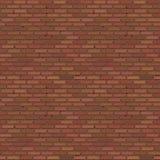 Brick Wall Seamless Pattern stock illustration