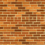 Brick wall seamless pattern. Royalty Free Stock Photography