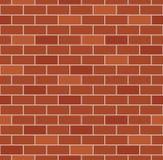 Brick wall seamless pattern vector Royalty Free Stock Photos