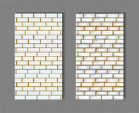 Brick wall seamless texture Royalty Free Stock Photography