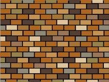 Brick wall seamless Stock Image