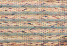 Brick wall with several colors Royalty Free Stock Image