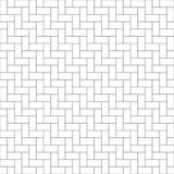 Brick wall. simple background. vector seamless pattern Royalty Free Stock Image