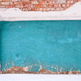 Brick wall and snow Royalty Free Stock Images