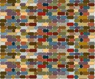 Brick wall stone. Vectorial image of brick wall Royalty Free Illustration