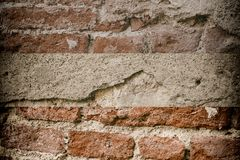 Brick wall stone background - texture for continuous rocks.  royalty free stock photo