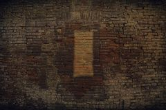 Brick wall stone background - texture for continuous rocks. For web site or mobile devices stock photography