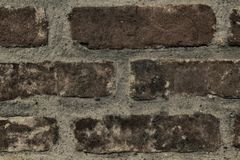 Brick wall stone background - texture for continuous rocks. For web site or mobile devices royalty free stock images