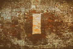 Brick wall stone background - texture for continuous rocks. For web site or mobile devices royalty free stock photos