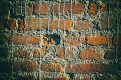 Brick wall stone background - texture for continuous rocks. For web site or mobile devices stock images