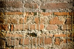 Brick wall stone background - texture for continuous rocks. For web site or mobile devices stock photos