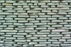 Brick wall stone backgrounds Stock Photography