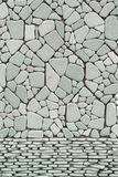 Brick wall stone backgrounds Stock Images