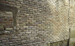 Brick wall street Royalty Free Stock Photography