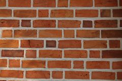 Brick wall structure royalty free stock photos