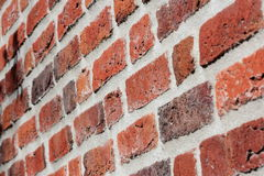 Brick wall structure Royalty Free Stock Image